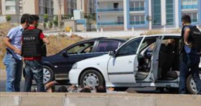 Bombalı araç ihbarı polisi alarma geçirdi
