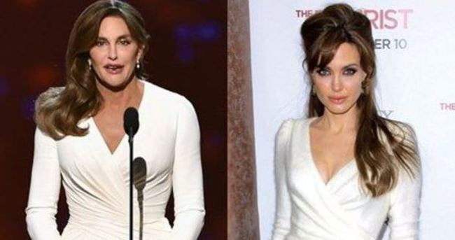 Caitlyn Jenner'ın idolü Angelina Jolie