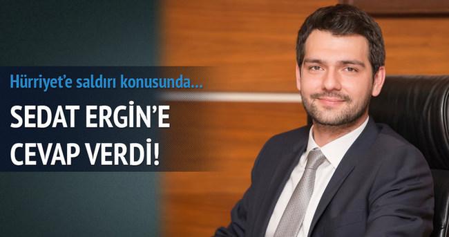 Abdurrahim Boynukalın Sedat Ergin'e cevap verdi!