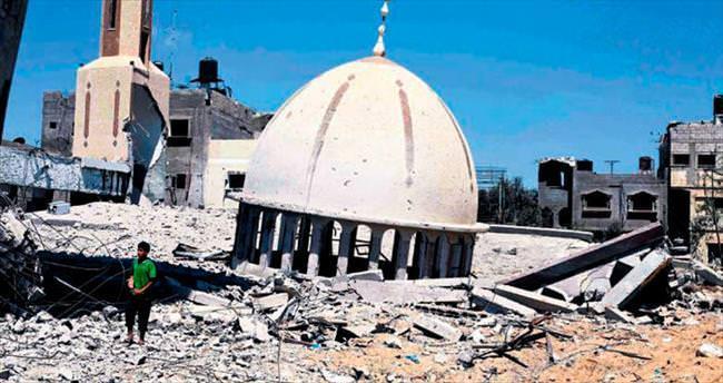Türkiye Gazze'de 9 camiyi tamir edecek