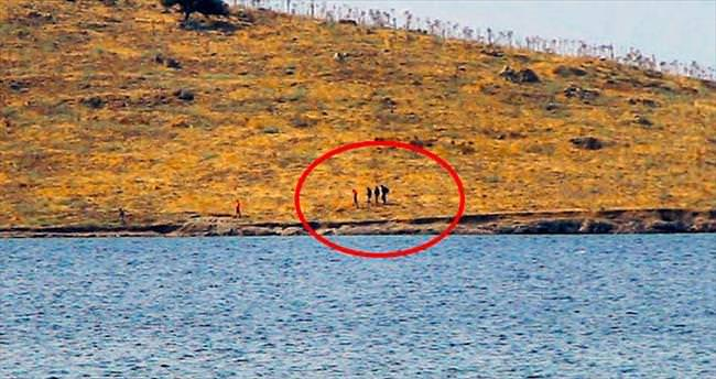 Çelebi Adası'nda mahsur kaldılar
