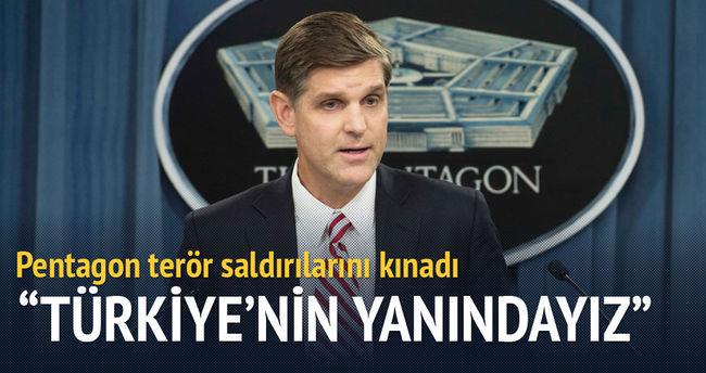 Pentagon terör saldırılarını kınadı