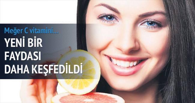 C Vitamini kalbe yürümek kadar faydalı