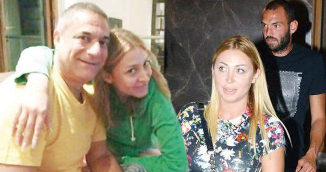 Mehmet Ali Erbil'in eski sevgilisiyle birlikte