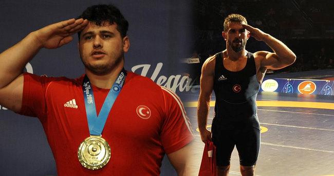 Grekoromende 2 altın madalya