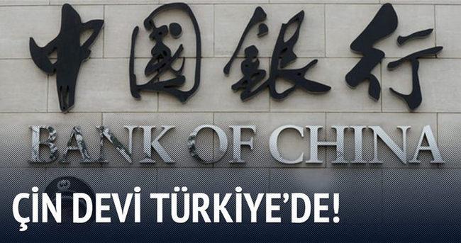 Çin devi, lisans için Türkiye'de
