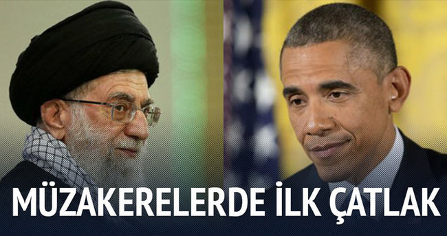 Hamaney ABD ile müzakerelere karşı