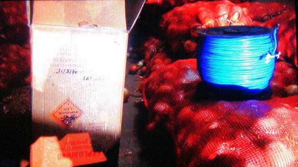 Şanlıurfa'da bomba yüklü TIR ele geçirildi