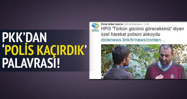 PKK'dan polisi kaçırdık palavrası