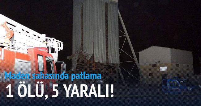 Kayseri'de patlama: 1 kişi öldü, 5 kişi yaralandı