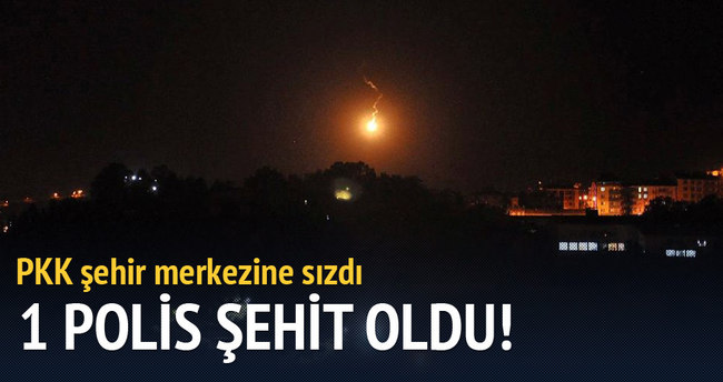 Tunceli'de polise saldırı: 1 şehit 3 yaralı