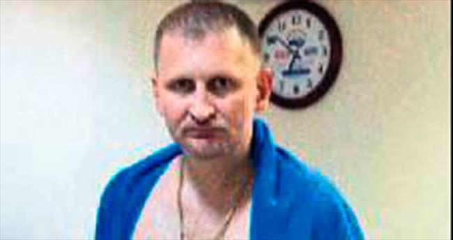 Otel faresi Rus turist sonunda yakalandı
