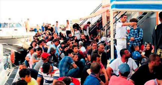 Ege Denizi'nde 384 kaçak yakalandı
