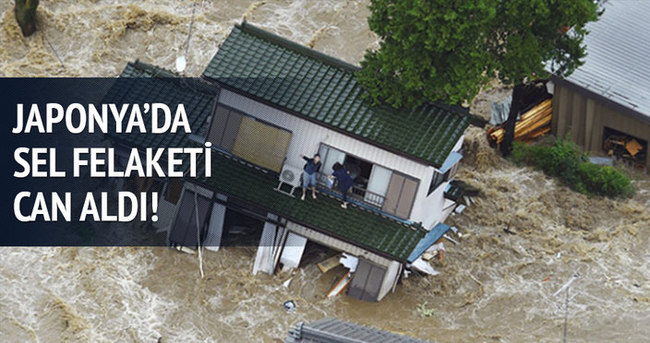 Japonya'da sel felaketi!