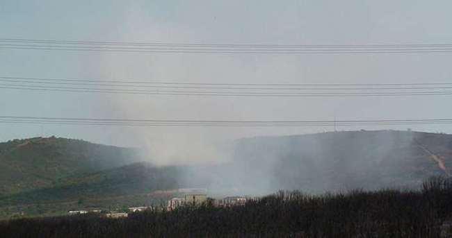 Tuzla Piyade Okulu'nda yangın!
