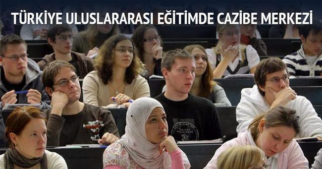 Türkiye uluslararası eğitimde cazibe merkezi