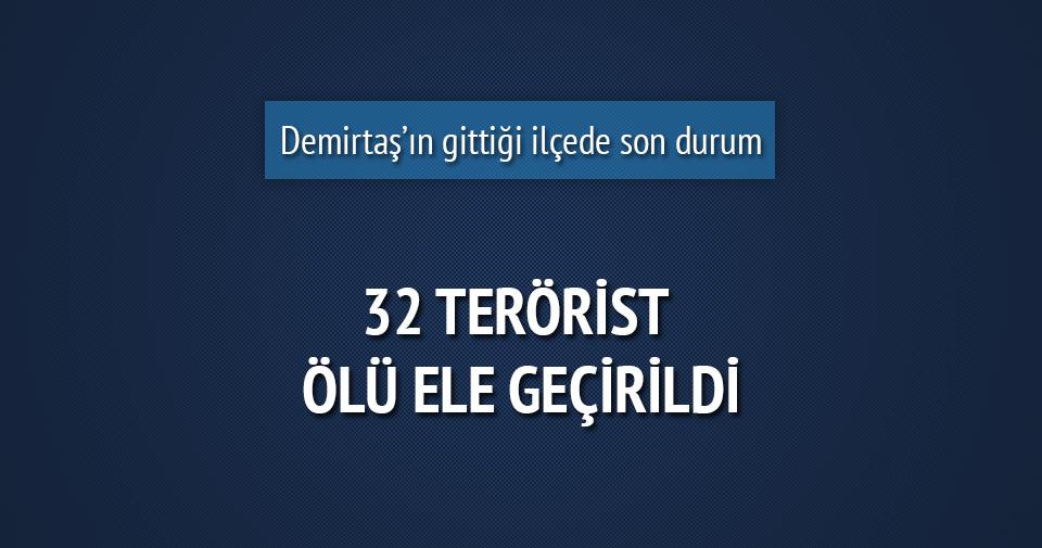 Altınok: Cizre'de 32 terörist ölü ele geçirildi