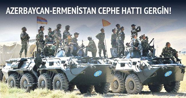 Azerbaycan-Ermenistan cephe hattı gergin