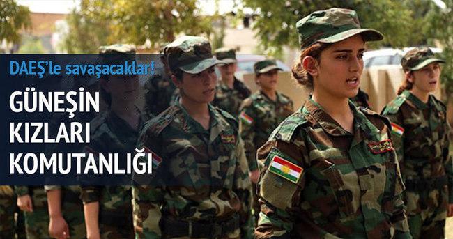 Yezidi kadınlar, DAEŞ'e karşı silah altına alındı