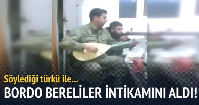 Bordo Bereliler işaretledi F-16'lar bombaladı