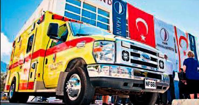 YDÜ Hastanesi'nde artık 9 ambulans var