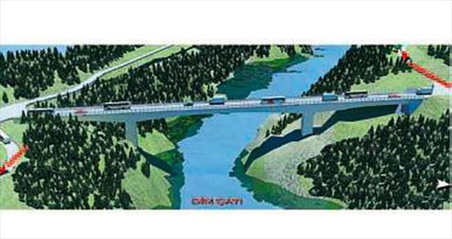 Dim Vadisi'ne boğaz köprüsü