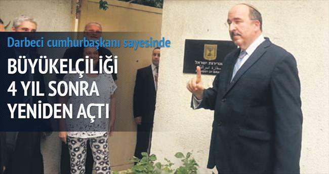 İsrail, Kahire Büyükelçiliği'ni 4 yıl sonra yeniden açtı