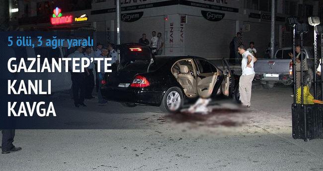 Gaziantep'te boşanma kavgası: 5 ölü