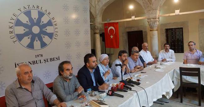 Yazar terörü ortak bildiri ile kınadı