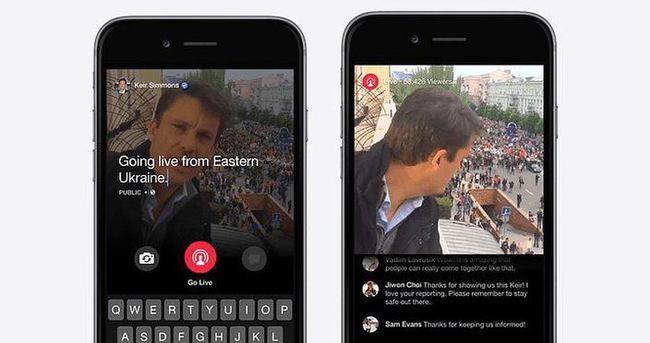 Facebook gazetecilere canlı yayın izni