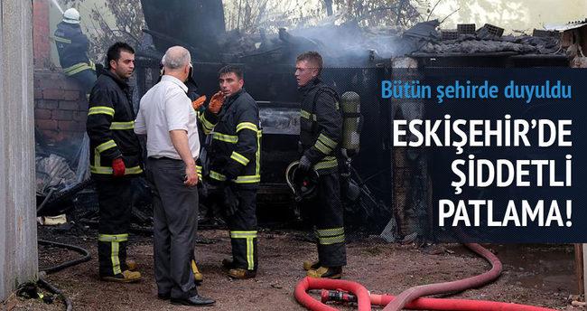 Eskişehir'de patlama!