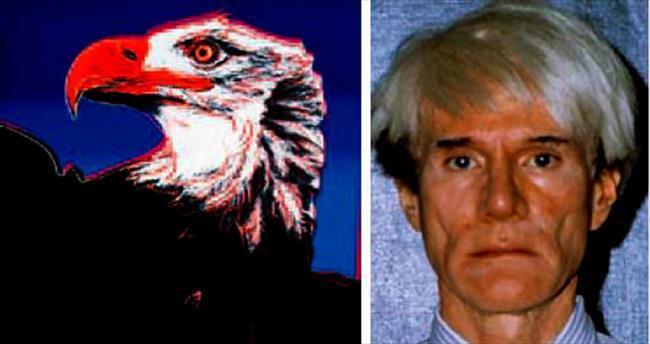 Andy Warhol'un 9 eseri çalınmış