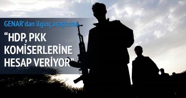 'HDP, PKK komiserlerine her şeyin hesabını veriyor'