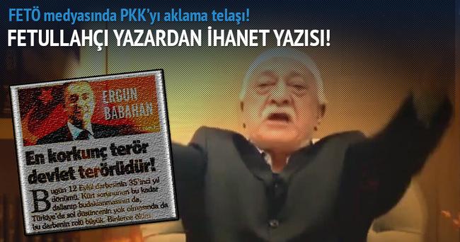FETÖ medyasında PKK'yı aklama telaşı