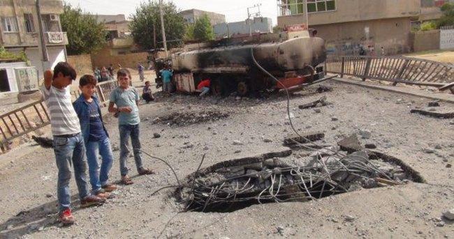 Nusaybin'de Ahmet Kaya köprüsüne bombalı saldırı