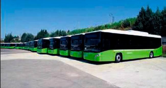 Yeni otobüsler geldi