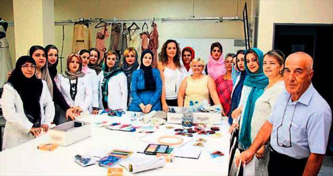 İranlı kadınların izmir'deki eğitimi başladı