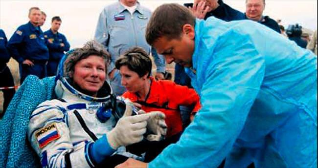 Uzayda en uzun süre kalma rekorunu kırdı