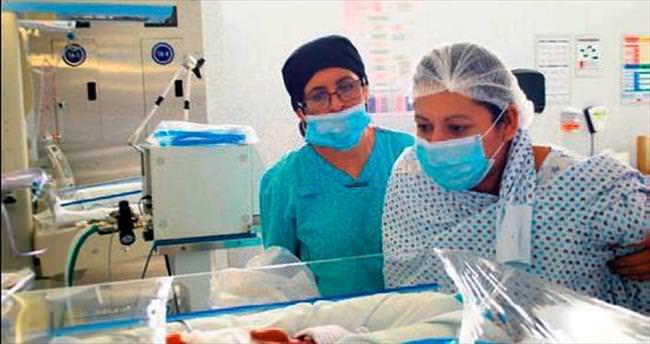 Meksikalı 7'izlerden 6'sı sağlıklı doğdu