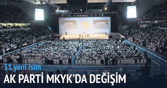 AK Parti MKYK'da değişim 31 yeni isim
