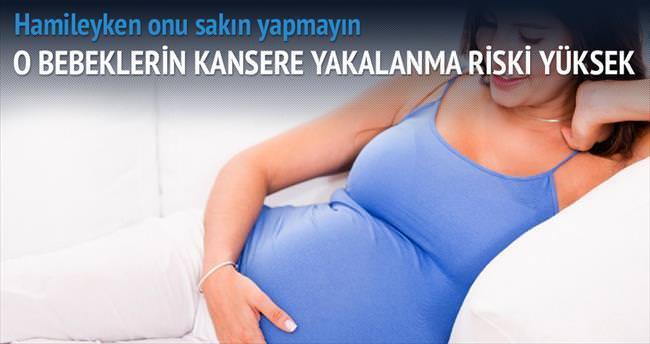 Hamilelikte sağlıksız gıda bebek için kanser riski