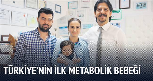 Türkiye'nin ilk metabolik bebeği