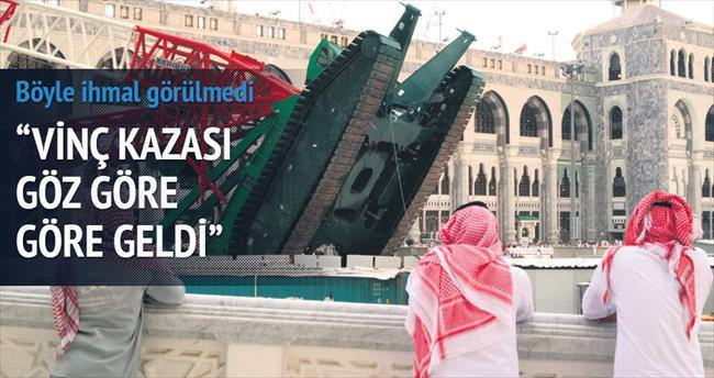 Mekke'deki facia göz göre göre geldi