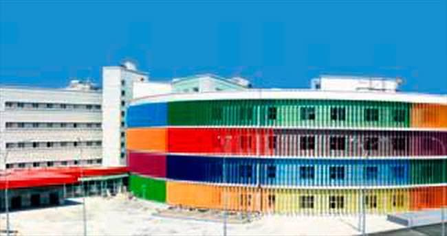 En renkli çocuk hastanesi