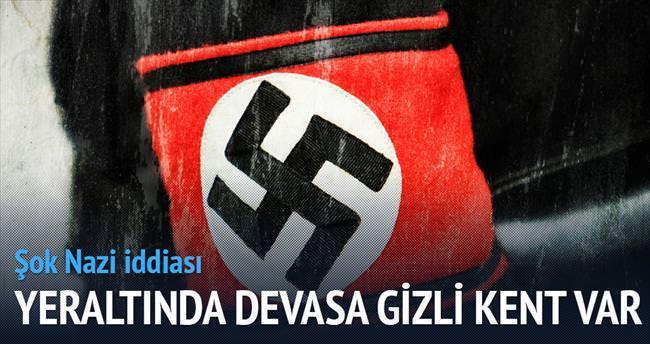 Yeraltında gizli Nazi kenti