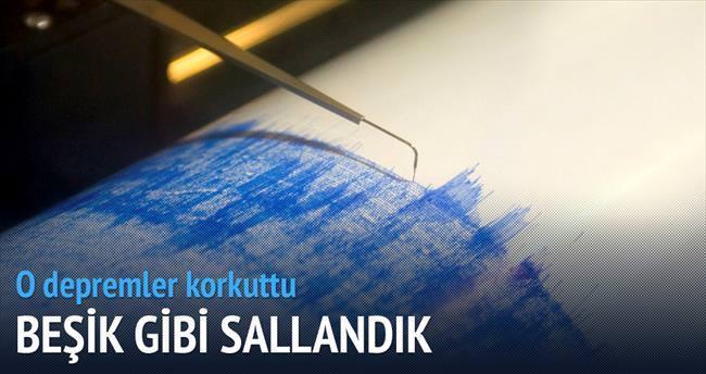 Muğla ve Antalya'da iki deprem