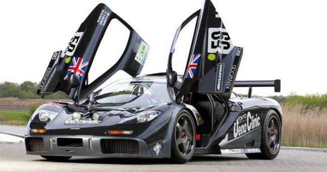 En pahalı McLaren F1 13.8 milyon $'a satıldı