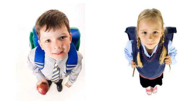 Ağır okul çantasına dikkat!