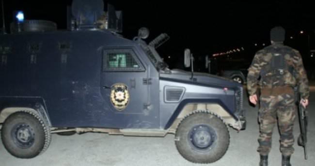Dargeçit'te PKK saldırısı: 1 polis yaralı