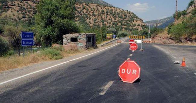 Terör nedeniyle o yollar kapanacak!